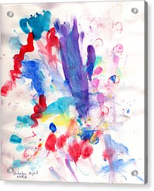 4th Of July Acrylic Print by Fred Wilson