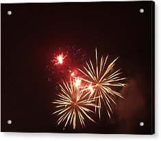 4th Of July Acrylic Print by Danielle Jackitis