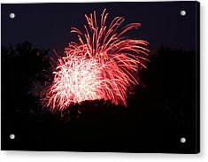 4th Of July Fireworks - 011311 Acrylic Print by DC Photographer