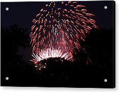 4th Of July Fireworks - 011313 Acrylic Print by DC Photographer
