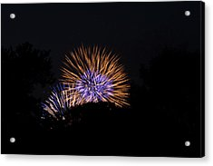 4th Of July Fireworks - 011315 Acrylic Print