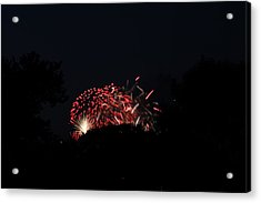 4th Of July Fireworks - 011318 Acrylic Print