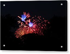 4th Of July Fireworks - 011319 Acrylic Print by DC Photographer