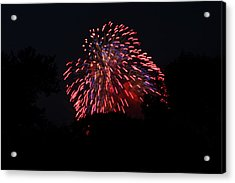 4th Of July Fireworks - 011321 Acrylic Print by DC Photographer