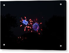 4th Of July Fireworks - 011323 Acrylic Print by DC Photographer