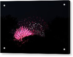 4th Of July Fireworks - 011328 Acrylic Print by DC Photographer