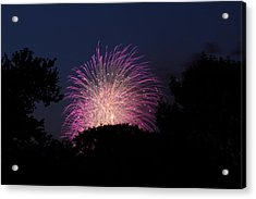 4th Of July Fireworks - 01133 Acrylic Print