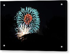 4th Of July Fireworks - 011331 Acrylic Print