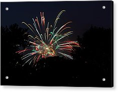 4th Of July Fireworks - 01139 Acrylic Print