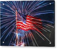 4th Of July Acrylic Print by Heidi Smith