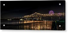 4th Of July In The Big Easy Acrylic Print by David Morefield
