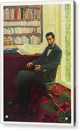 Abraham Lincoln (1809 - 1865) U Acrylic Print by Mary Evans Picture Library