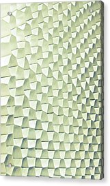 Abstract Pattern Acrylic Print by Tom Gowanlock