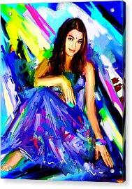 Aishwarya Rai Acrylic Print