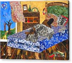 5 Am Acrylic Print by Paula Drysdale Frazell