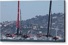 America's Cup 34 New Prices Acrylic Print