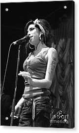 Amy Winehouse Acrylic Print