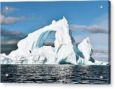 Antarctic Iceberg Acrylic Print by Dr P. Marazzi