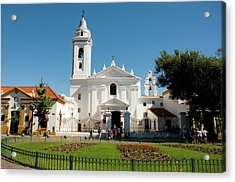 Argentina Buenos Aires Recoleta Acrylic Print by Inger Hogstrom