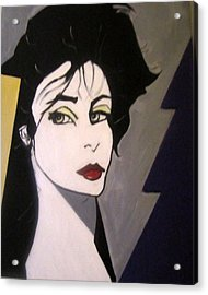 Acrylic Print featuring the painting Art Deco by Nora Shepley