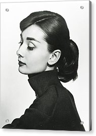 Audrey Hepburn Acrylic Print by Retro Images Archive