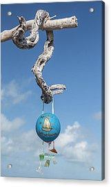 Bahamas, Exuma Island, Cays Land Acrylic Print