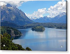Bariloche Argentina Acrylic Print by Jim McCullaugh