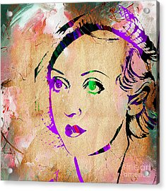 Bette Davis Collection Acrylic Print by Marvin Blaine