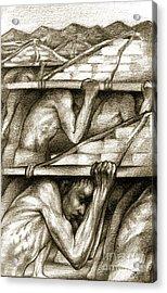 Biblical Illustration Acrylic Print