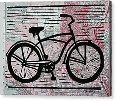 Bike 9 Acrylic Print by William Cauthern