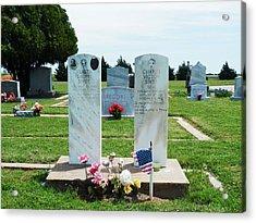 Bomarton Catholic Cemetery 5 Acrylic Print