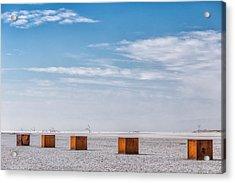 5 Box Acrylic Print by Peter Tellone