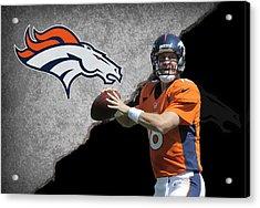 Broncos Peyton Manning Acrylic Print by Joe Hamilton
