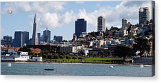 Buildings At The Waterfront Acrylic Print by Panoramic Images