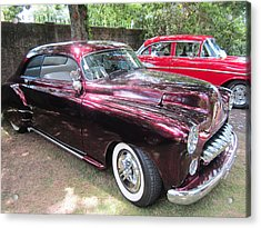 Classic Car  Acrylic Print by Max Lines