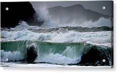 Clogher Waves Acrylic Print