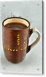 Coffee Acrylic Print by George Atsametakis