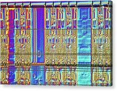 Computer Memory Chip Acrylic Print