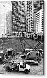 Construction Site-2 Acrylic Print