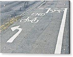 Cycle Path Acrylic Print