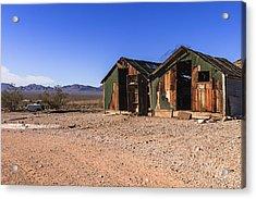 Death Valley Acrylic Print by Muhie Kanawati