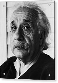 Dr. Albert Einstein Acrylic Print by Retro Images Archive