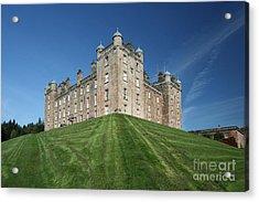 Drumlanrig Castle Acrylic Print by Maria Gaellman