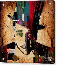 Duke Ellington Collection Acrylic Print by Marvin Blaine