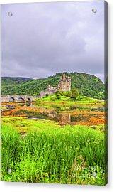 Eilean Donan Castle Acrylic Print by Patricia Hofmeester