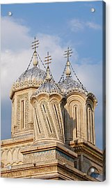 Episcopal Cathedral Of Curtea De Arges Acrylic Print by Martin Zwick