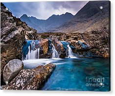 Fairy Pools Acrylic Print by Maciej Markiewicz