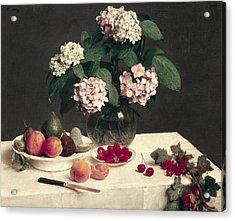Fantin-latour, Henri-th�odore Acrylic Print by Everett