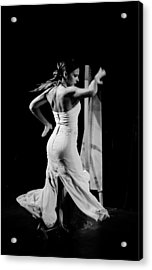 Flamenco Acrylic Print by Andrea Mazzocchetti