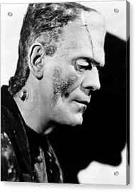 Frankenstein, Boris Karloff, 1931 Acrylic Print by Everett